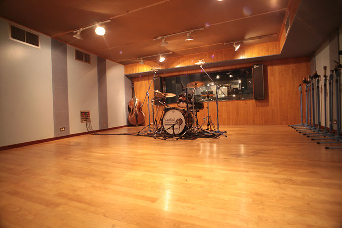 Studio 1 - Photography. Westland Studios. Live Room Drum Kit. Music. Dublin, Ireland