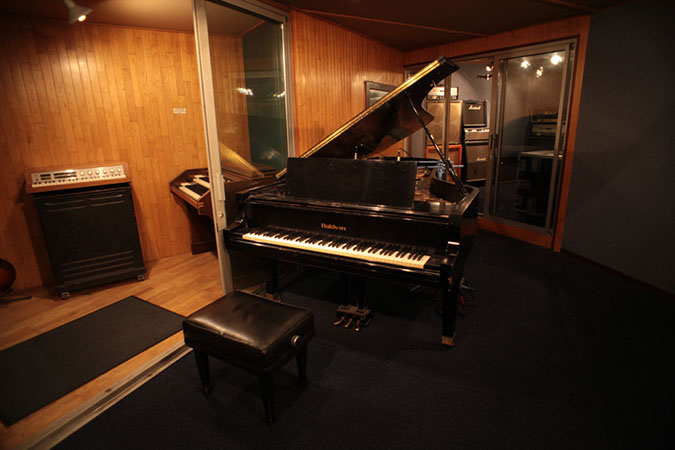 Studio 1 - Photography. Westland Studios. Baldwin Gran Piano & Booths. Music. Dublin, Ireland