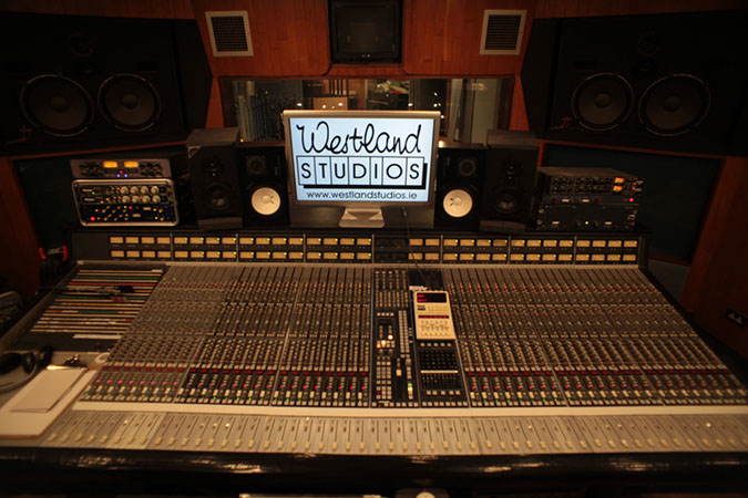 Studio 1 - Photography. Westland Studios. SSL Console. Music. Dublin, Ireland