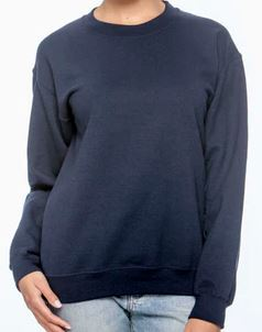 Navy Crew Neck Sweatshirt.JPG