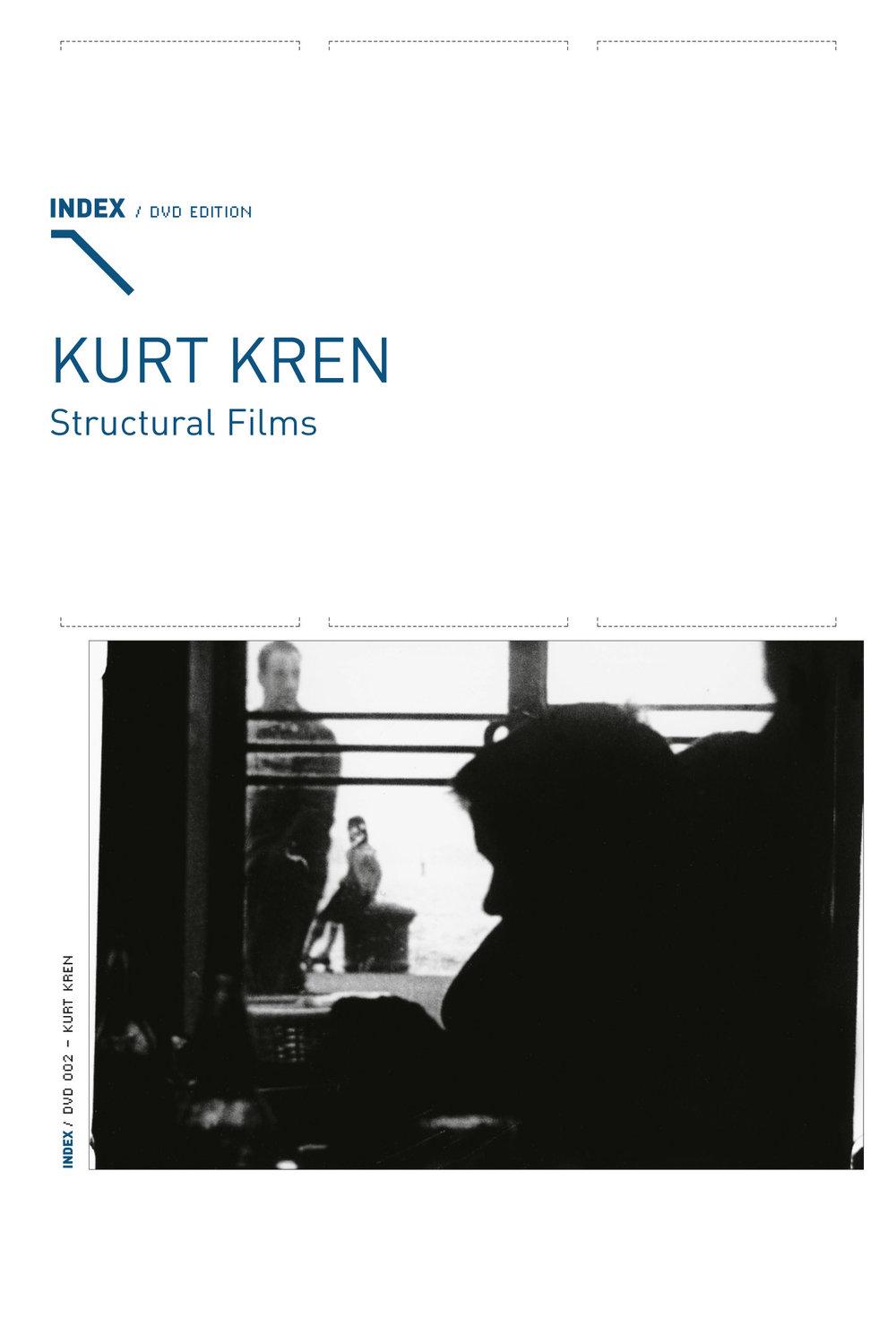 Kurt Kren. Structural Films. Vienna: Index DVD Edition, no. 002, 2004.
