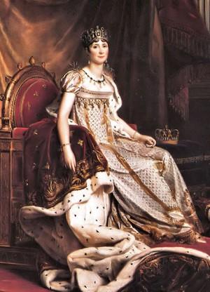 Joséphine de Beauharnais (1763-1814) Épouse et impératrice aimée de Napoléon mais qui ne pouvait lui donner un héritier