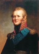 Alexandre I de Russie (1777-1825) qui résista jusqu'à la fin à Napoléon