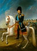 Général Bernadotte (1763-1844) à qui Napoléon avait présenté Désirée Clary et qui devint l'ennemi juré de Napoléon en s'alliant à la Suède