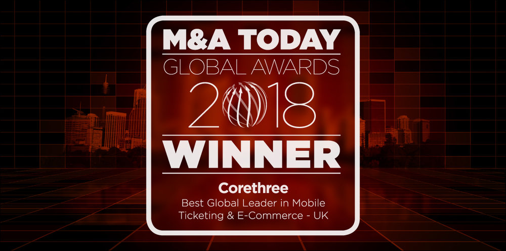 M&A Today Global Awards 2018 winner Corethree