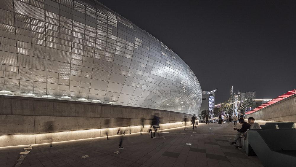 Arquitectura Seúl, Zaha Hadid - Estudio GALLARDO Fotografía