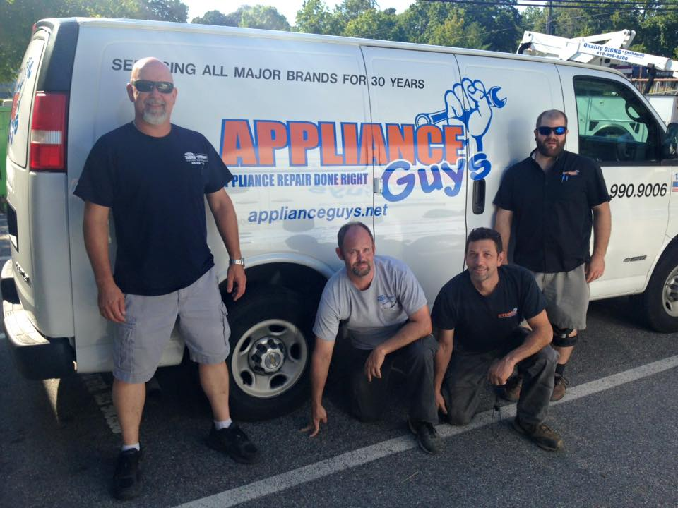 Service Areas - We are a local, family-operated business with offices in Annapolis & Huntingtown, Appliance Guys services most of Anne Arundel & Calvert Counties in Maryland.