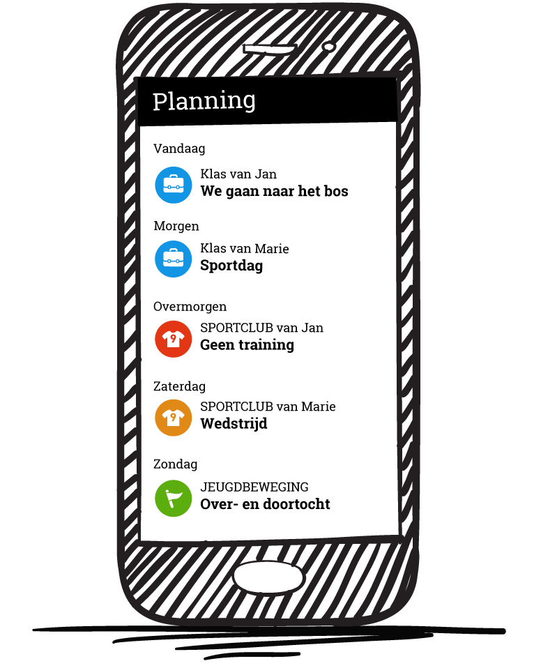 familie agenda app