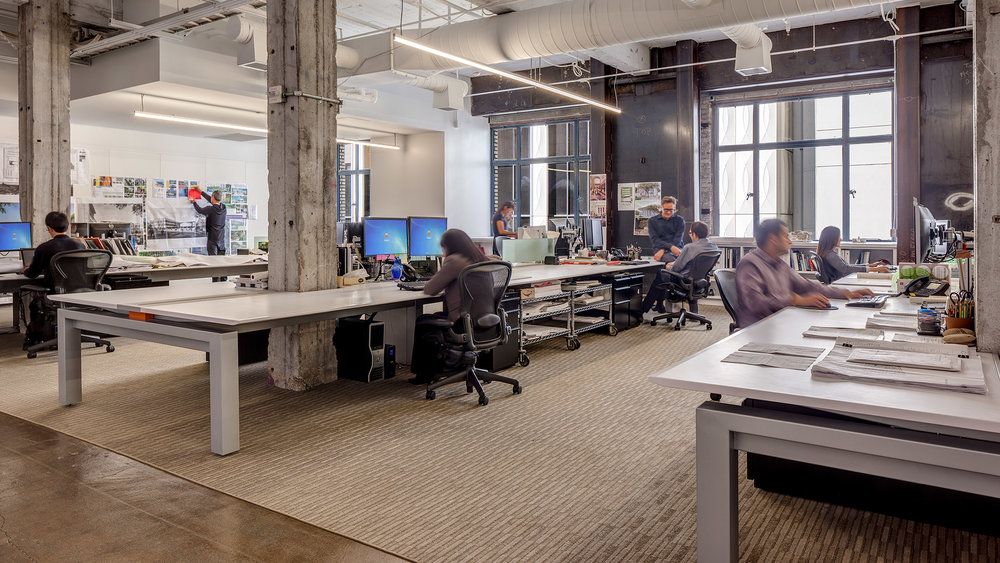 SWA Design - SWA Group, a world leader in landscape architecture, planning, and urban design, relocated its San Francisco office to a new space that would better serve its business and accommodate the firms' growth.