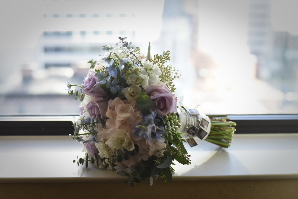 flowers by yukie hotel dupont wedding