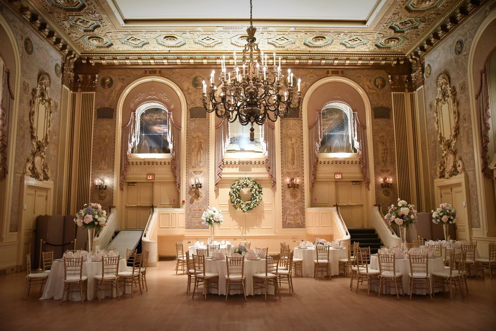 hotel dupont gold ballroom wedding