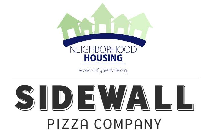 Pizza Party Fundraiser - We all know pizza is good, but Sidewall Pizza is the best! Come grab a pizza (or delicious salad) at the Cleveland Park Sidewall location while helping to support Neighborhood Housing Corporation Greenville. A portion of your purchase will be given back to NHCG to help fund more projects in our area. If you like our page and share this event between now and January 28th, you will be entered to win a free pizza! RSVP and Share on Facebook.