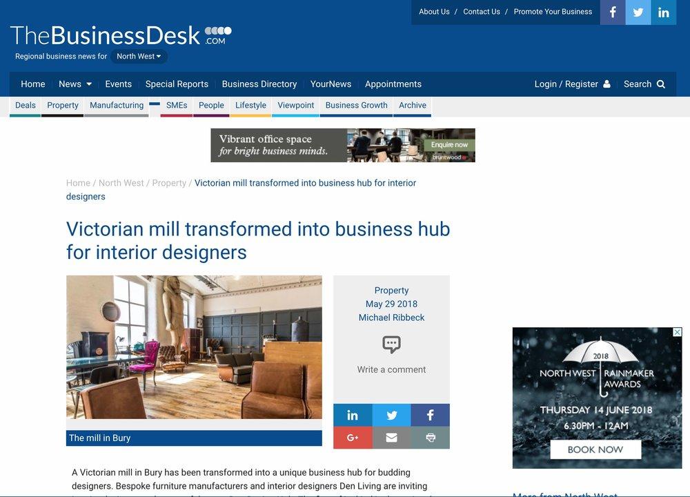 The Business Desk Design Hub