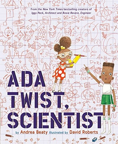 Ada Twist Scientist - Andrea Beaty – AbramsLike her classmates, builder Iggy and Inventor Rosie, scientist Ada has a boundless imagination and has always been hopelessly curious.