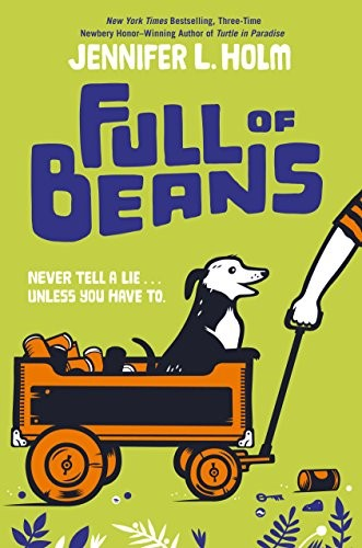 Full of Beans  - Holm, Jennifer978-0553510362Historical Fiction novel based in Key West during the Depression. Ten year old Beans wants to make money to help his family with their basic needs. Meanwhile, people are coming from Washington D.C. to clean up the town and make it a tourist attraction.