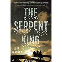 The Serpent King   - Jeff Zentner978-0-553-52405-5As three friends, the son of a preacher-turned-convict; a fashion blogger; and a fantasy novel loving aspiring writer finish their senior year in rural Tennessee, they're aware that life may be about to take them in different directions. Can they make the most of their remaining time together while still trying to figure out what's next?