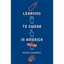 Learning to Swear in America    - Katie Kennedy978-1-61963-909-6The West Coast is facing impending doom by an asteroid strike. America must enlist the help of Yuri, a 17-year old, physics prodigy from Russia.Yuri meets a sister and brother who are determined to help Yuri learn all about American culture, which of course includes all of the best swear words and how to properly use them. Yuri has three weeks to earn the respect of his fellow scientists, create a plan to destroy the asteroid,and of course experience as many youthful adventures in America before his possible death.A cleverly written,hilarious page turner.You will be in tears from laughing so hard!
