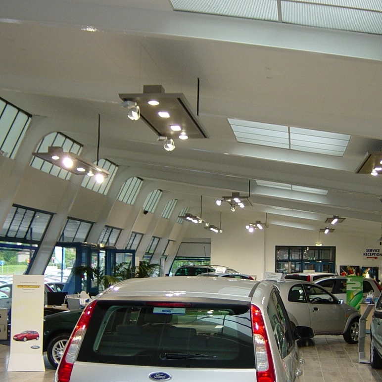 Car Showrooms - Quality for Corporate Identity