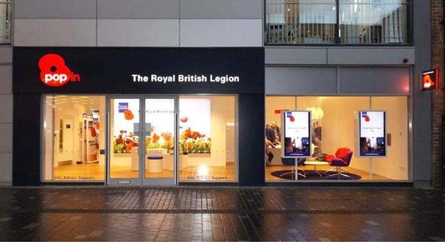 Highstree presence for Royal British Legion