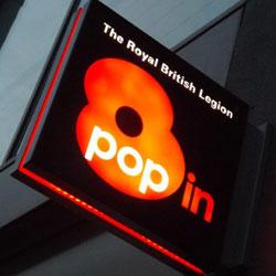 Royal British Legion - Pop in Centres