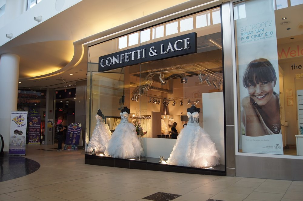 Confetti and lace exterior1.JPG