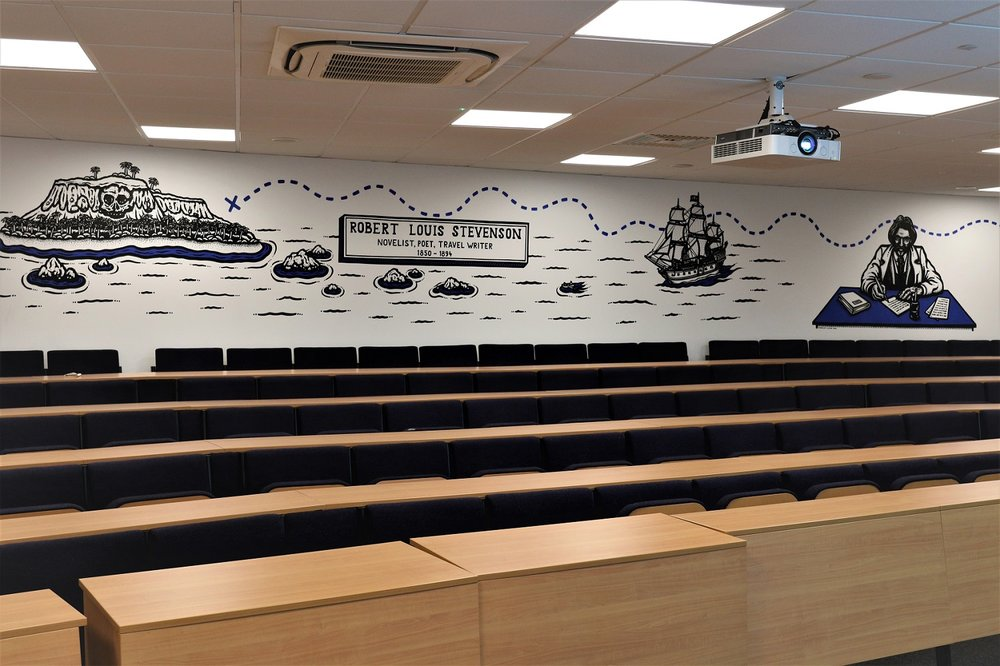 Refurbished lecture theatre for Bournemouth University