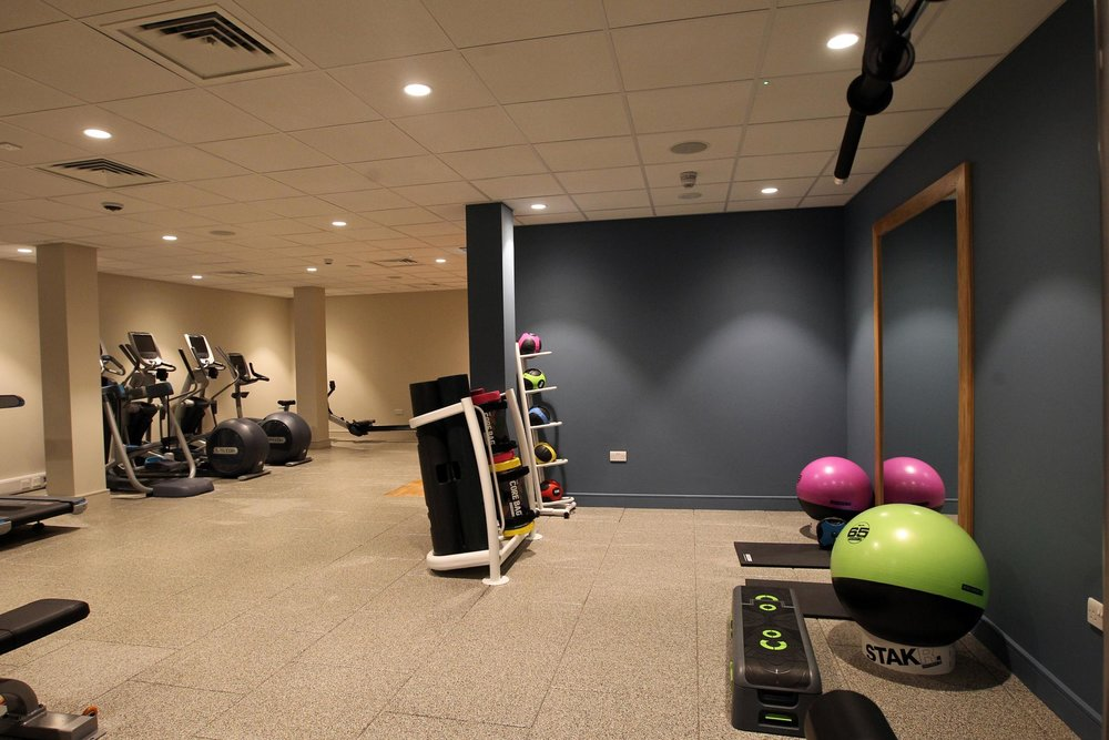 Hotel gym for visitor use