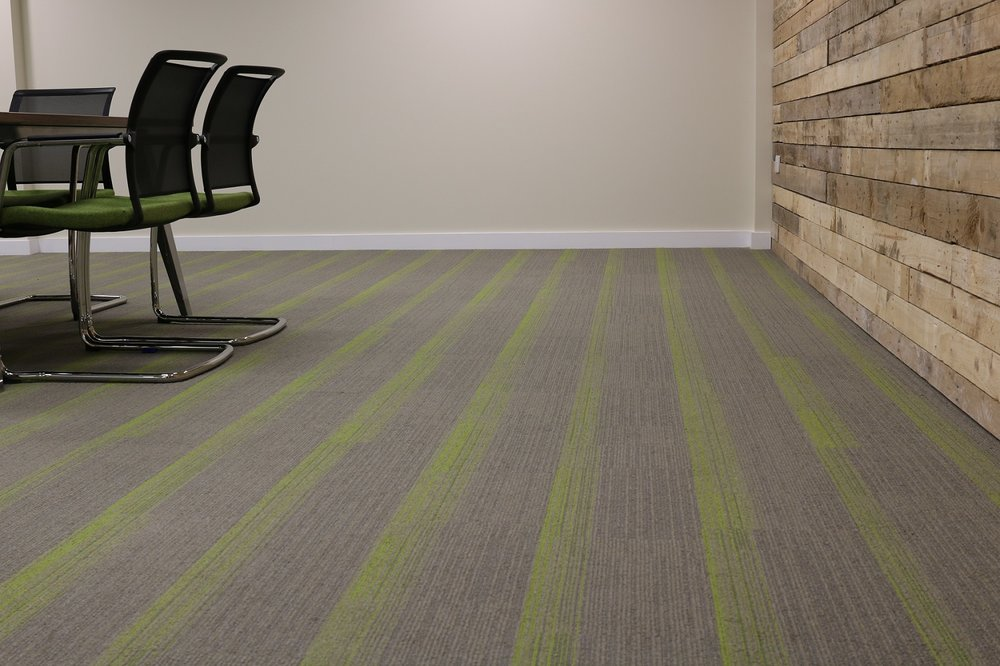 Carpet to match colours in boardroom