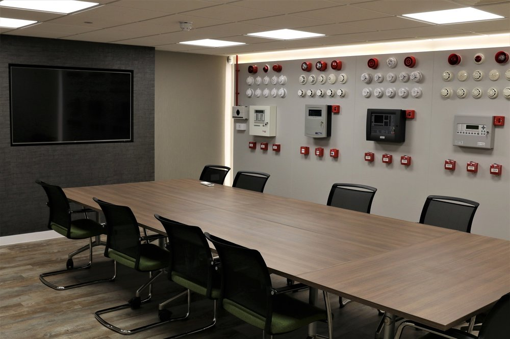 Bespoke training room for clients