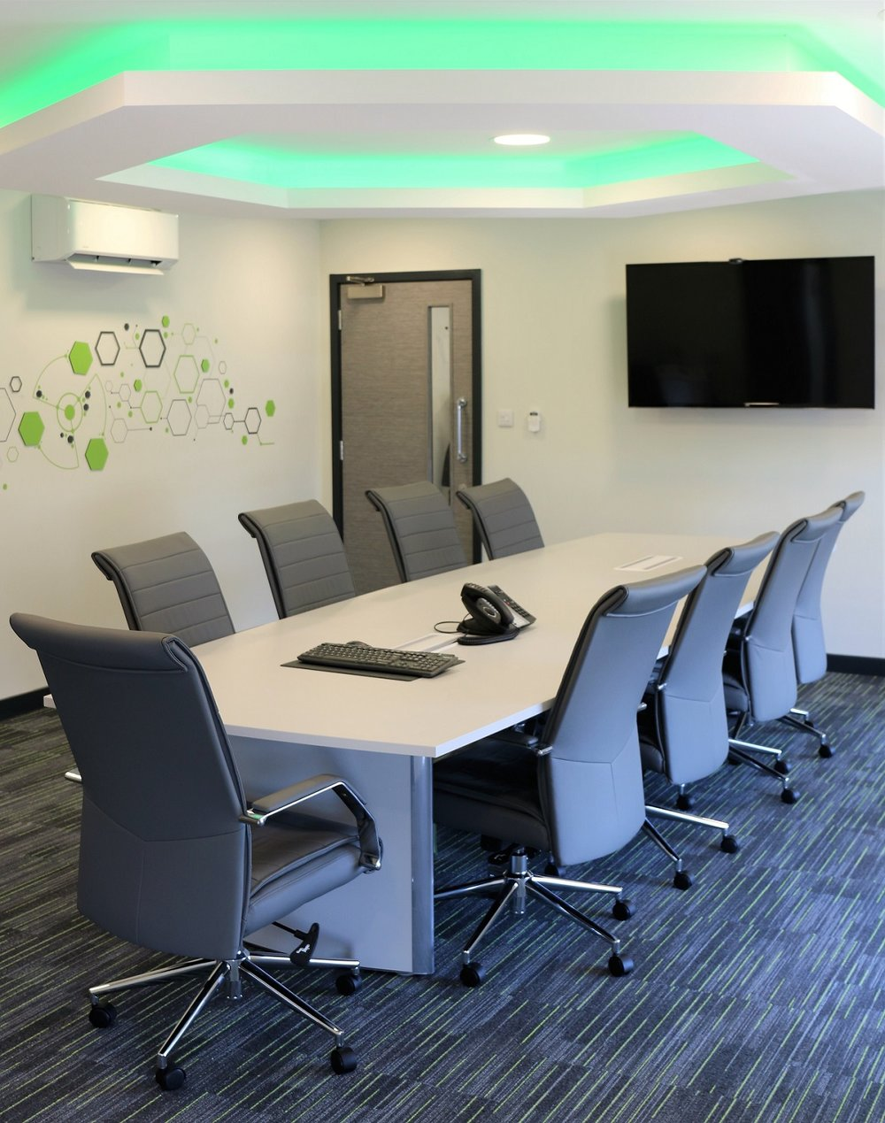 Boardroom fit-out, decoration and furniture