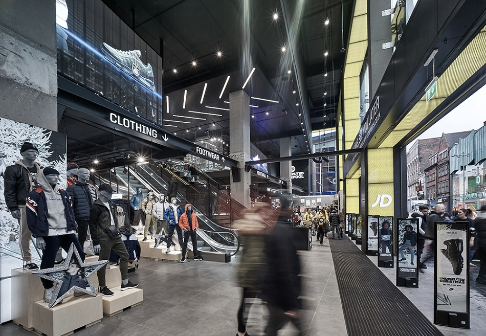 JD Sports Liverpool One extension