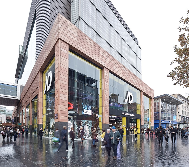 JD Sports Liverpool One refurb