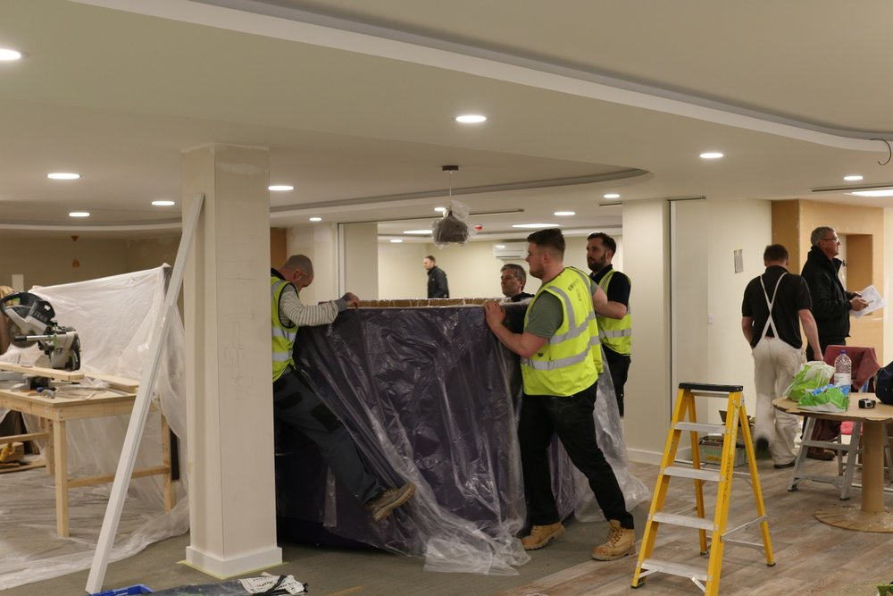 Commercial, warehouse, office, boardroom or break-out room fit out & refurbishment