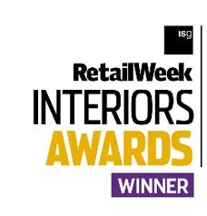 RetailWeek Interior Awards Winner