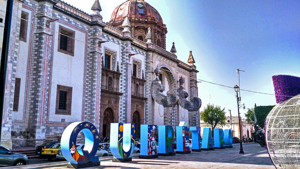 Santiago de Queretaro in Mexico is an affordable and charming UNESCO city, with a growing modern economy and delicious food
