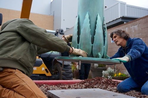 Pioneering Public Art - The Oregon Artists Series Foundation has been promoting art in public spaces in downtown Salem and within the Salem Convention Center since 2008.