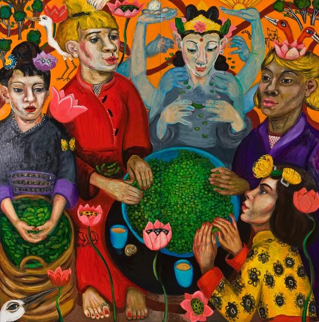 Mary Josephson - Many Hands Light Work