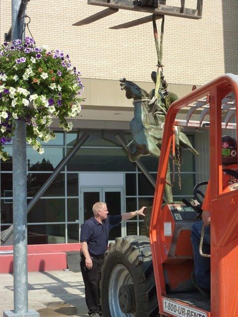 James Lee Hanson install lift.jpg