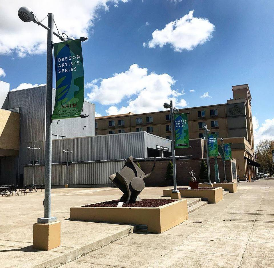 About OASF - The Oregon Artists Series Foundation collaborates with the City of Salem and the Salem Convention Center to site a wide range of artworks throughout downtown – artworks that pique the public's interest and encourage people to explore.