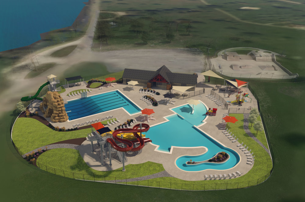 Conceptual Design and 3D VR Renderings Provided by Waters Edge Aquatic Design