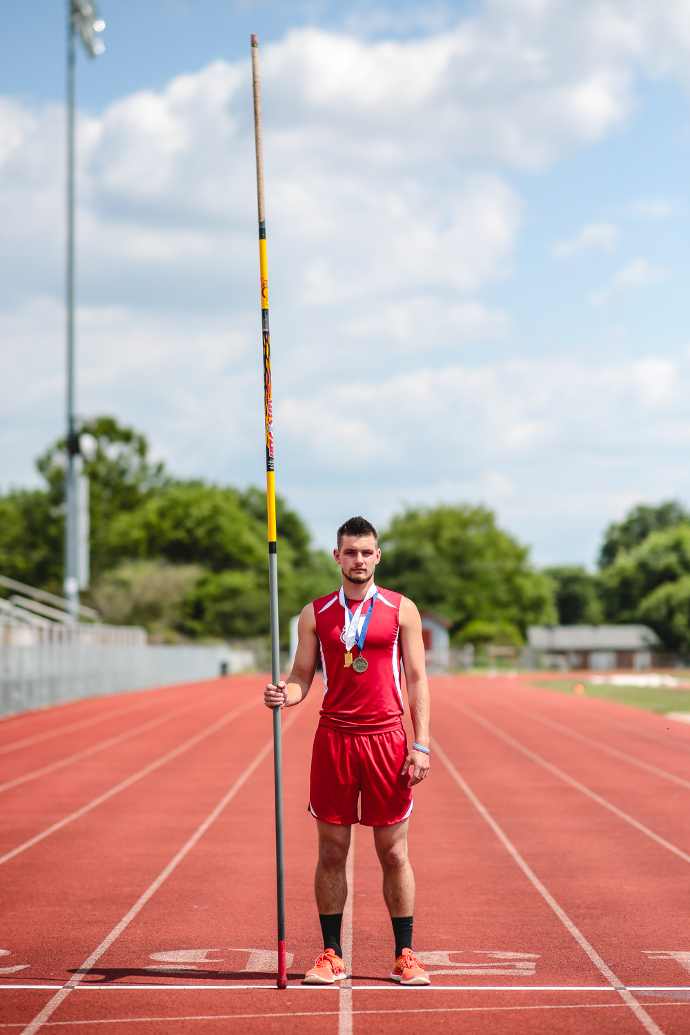 The Pole Vaulter