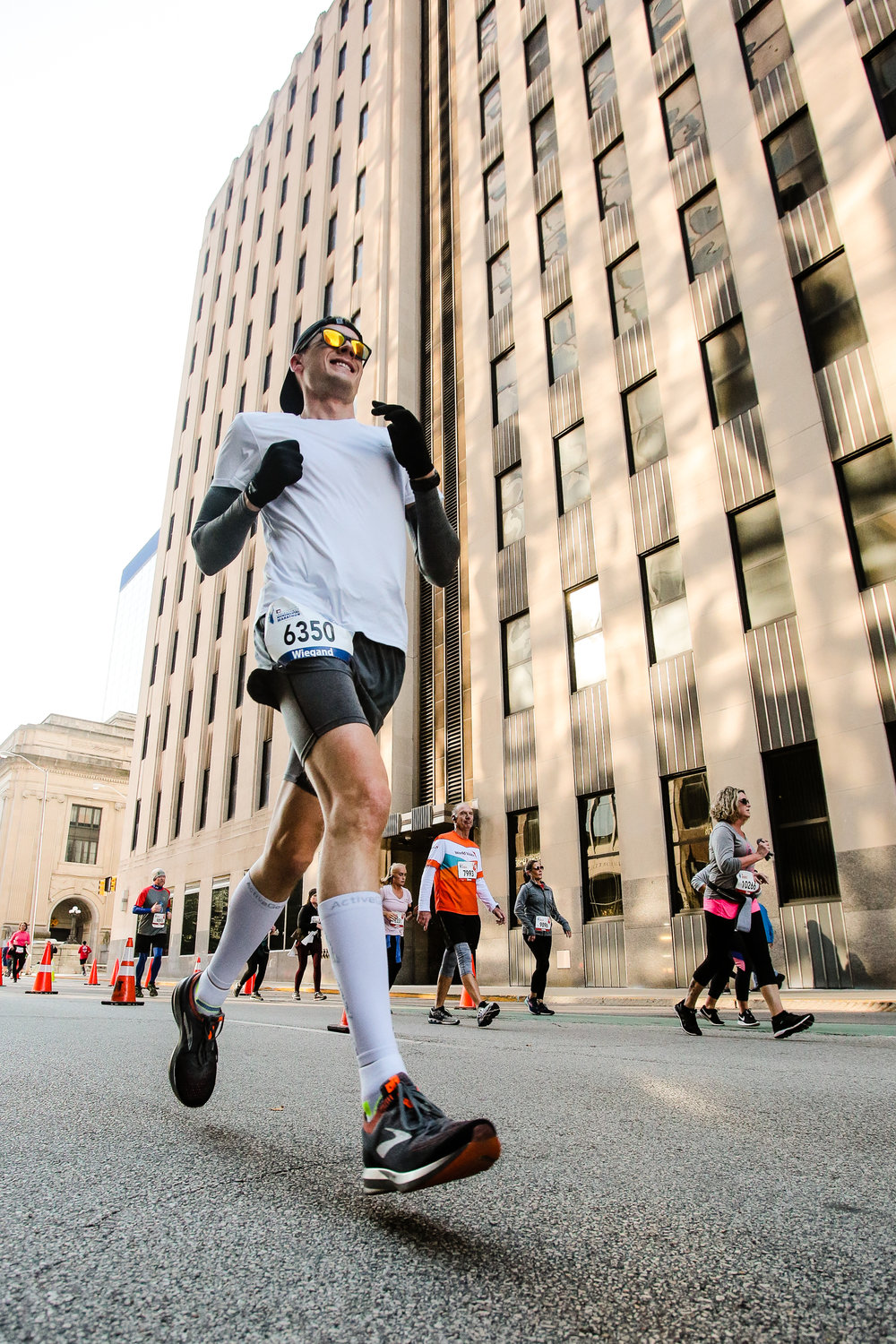 Monumental Marathon, Downtown Indianapolis