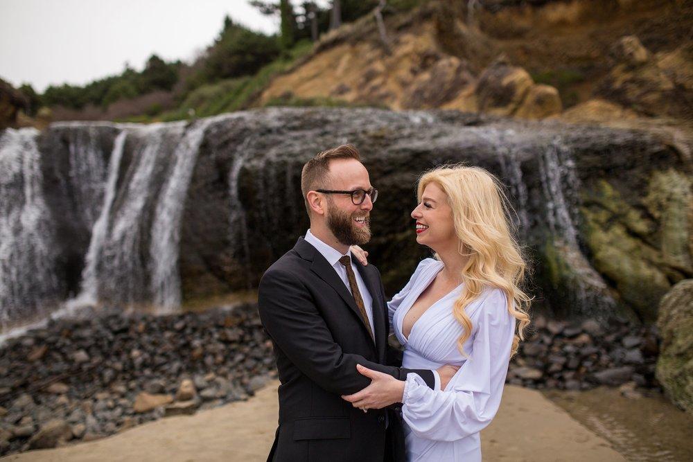 Hug Point Wedding Photographer