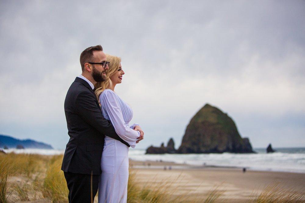 Cannon Beach Oregon Wedding Photographer