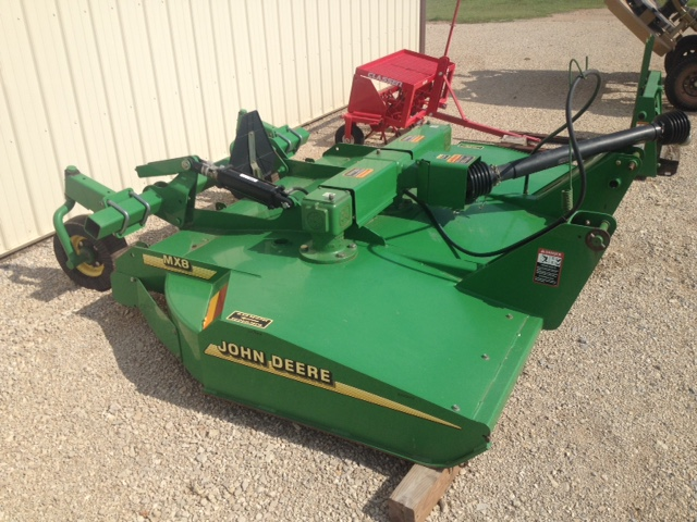 John Deere mx 8 ft. (Like New) - $2,850