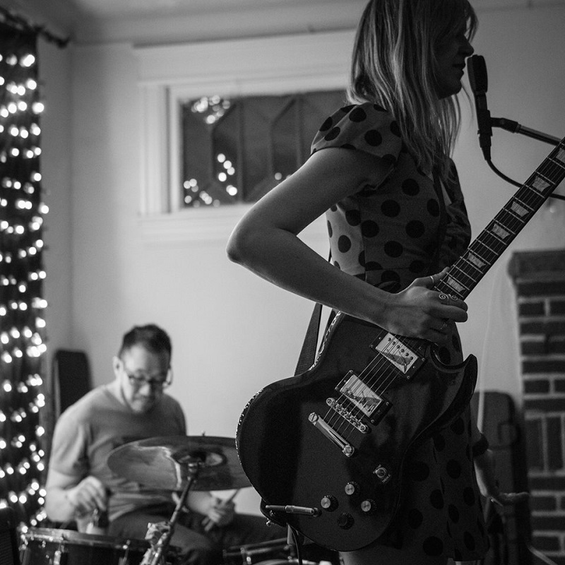 From left, Joel & Maryjo live; photographed by Eamonn Donnelly