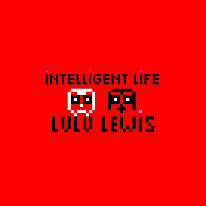 "Cover art for Lulu Lewis' single ""Intelligent Life""; courtesy of the band."