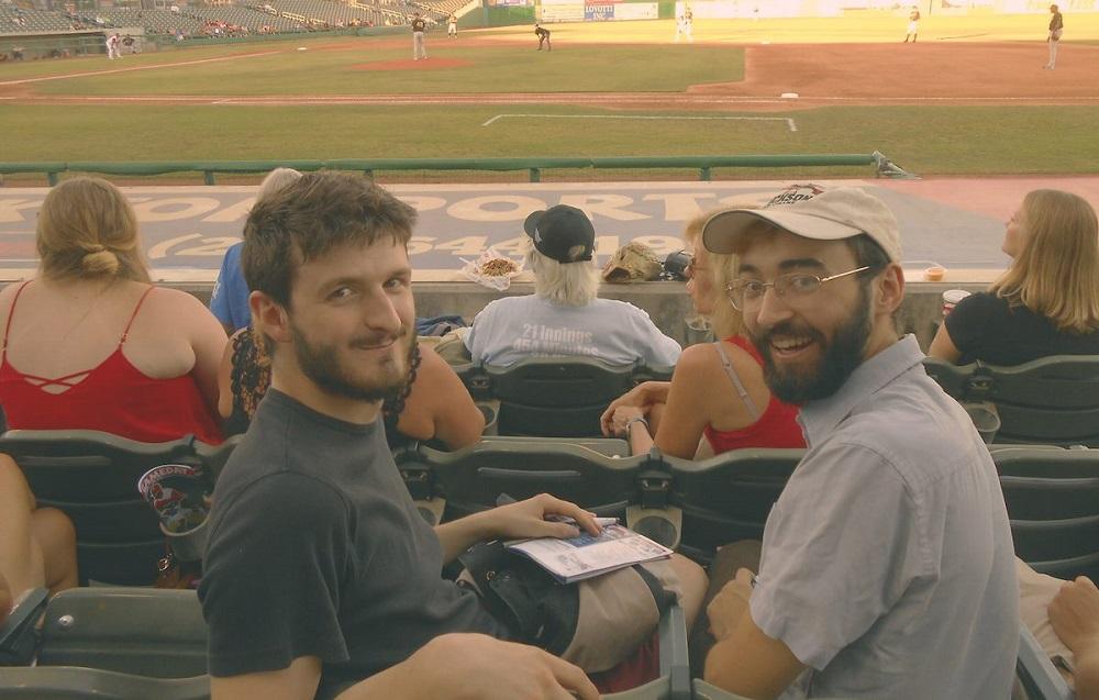From left, Luca & Sam of Baseball Gregg