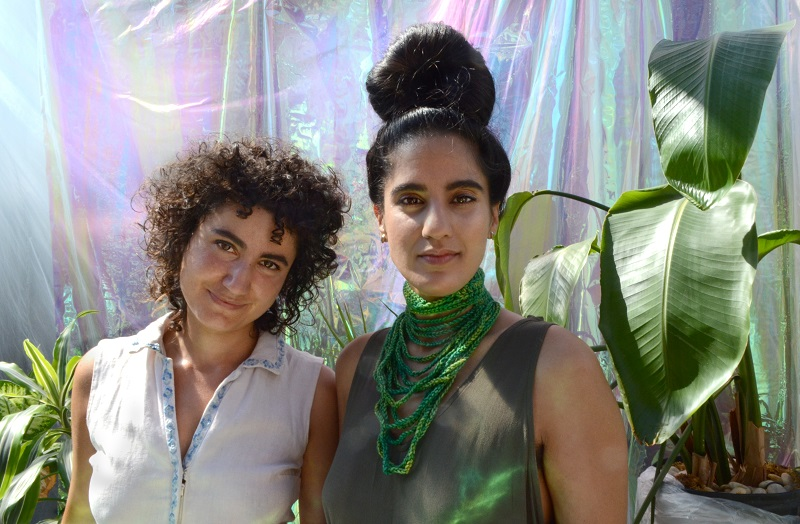 Introducing Raw Silk's Alexa Richardson and Ami Dang (from left); photographed by Liz Flyntz.