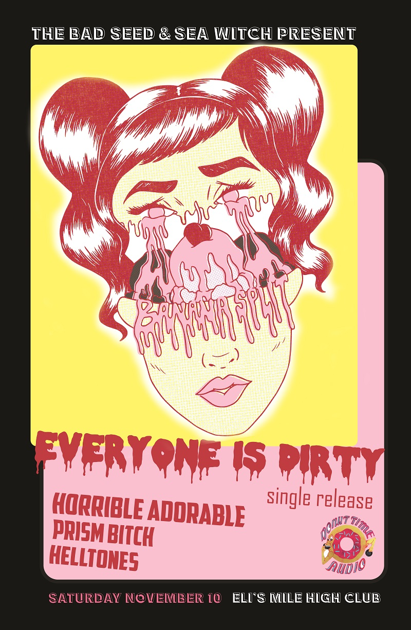 everyone is dirty week in pop Banana Split Release Show New New.jpg
